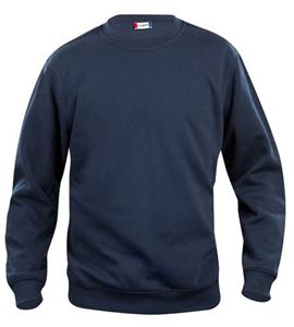 Afbeelding van Clique Basic Roundneck Sweater Donkerblauw