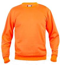 Picture of Clique Basic Roundneck Sweater Signaal Oranje