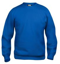 Picture of Clique Basic Roundneck Sweater Kobalt Blauw