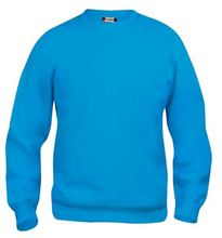 Picture of Clique Basic Roundneck Sweater Turquoise