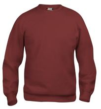 Picture of Clique Basic Roundneck Sweater Bordeaux