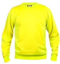 Picture of Clique Basic Roundneck Sweater Signaal Geel