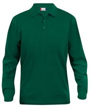 Picture of Clique Classic Lincoln Polo lange mouw Flessengroen