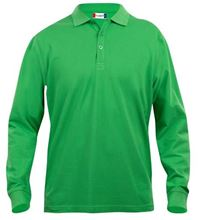 Picture of Clique Classic Lincoln Polo lange mouw Grasgroen