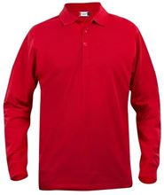 Picture of Clique Classic Lincoln Polo lange mouw Rood