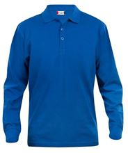 Picture of Clique Classic Lincoln Polo lange mouw Kobalt Blauw