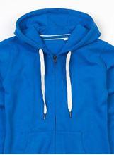 Picture of Mantis Mens Superstar Zip Through Hoodie Cobalt Blue