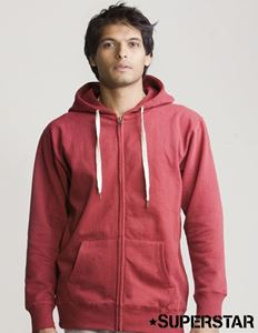 Afbeelding van Mantis Mens Superstar Zip Through Hoodie