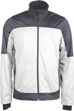 Picture of  Mens bicolor softshell jacket Kariban White / Titanium
