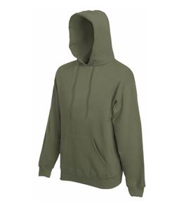 Afbeelding van Fruit of the Loom Classic Hooded Sweat Classic Olive