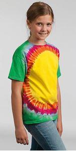 Afbeelding van Colortone Kids Rainbow Sunburst T
