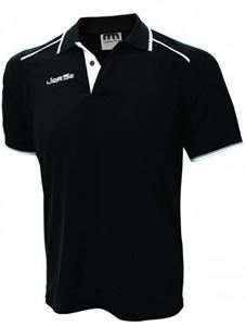 Afbeelding van Zwarte Sport Polo korte mouw Melbourne