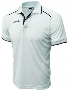 Picture of Witte Sport Polo korte mouw Melbourne