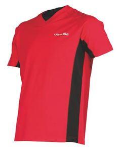 Afbeelding van Indoor shirt Brussels Rood-Zwart
