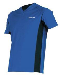 Afbeelding van Indoor shirt Brussels Blauw-Zwart