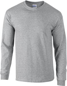 Afbeelding van Ultra Cotton Adult Long Sleeve T-shirt Gildan Sport Grey