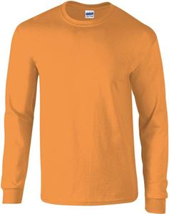 Afbeelding van Ultra Cotton Adult Long Sleeve T-shirt Gildan Orange
