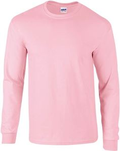Afbeelding van Ultra Cotton Adult Long Sleeve T-shirt Gildan Light Pink