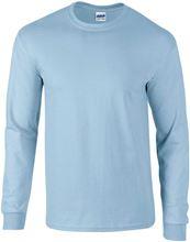 Picture of Ultra Cotton Adult Long Sleeve T-shirt Gildan Light Blue