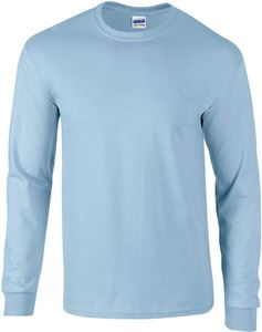 Afbeelding van Ultra Cotton Adult Long Sleeve T-shirt Gildan Light Blue