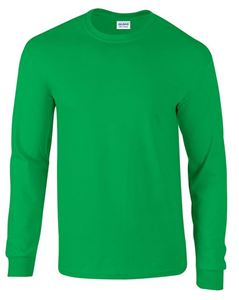 Afbeelding van Ultra Cotton Adult Long Sleeve T-shirt Gildan Irish Green