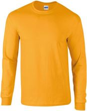 Picture of Ultra Cotton Adult Long Sleeve T-shirt Gildan Gold