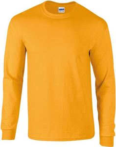 Afbeelding van Ultra Cotton Adult Long Sleeve T-shirt Gildan Gold