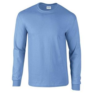 Afbeelding van Ultra Cotton Adult Long Sleeve T-shirt Gildan Carolina Blue