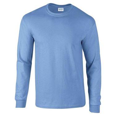 Picture of Ultra Cotton Adult Long Sleeve T-shirt Gildan Carolina Blue