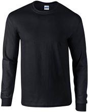 Picture of Ultra Cotton Adult Long Sleeve T-shirt Gildan Black