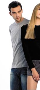 Afbeelding van B&C Exact 150 long sleeve T-shirt