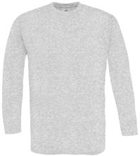 Picture of B&C Exact 150 long sleeve T-shirt Ash