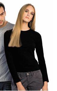 Afbeelding van B&C Women T-shirt Women-Only Longsleeve T,