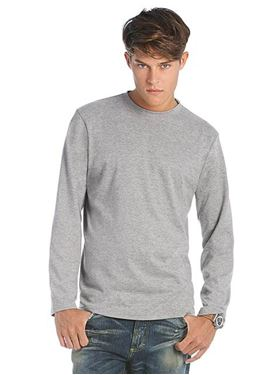Picture of B&C Exact 190 long sleeve T-shirt