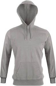 Afbeelding van  Trendy heren T-shirt met lange mouwen en capuchon Kariban Vintage Vintage Grey