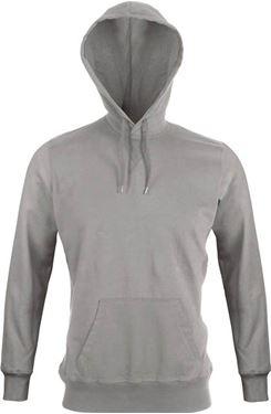 Picture of  Trendy heren T-shirt met lange mouwen en capuchon Kariban Vintage Vintage Grey