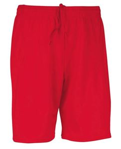 Afbeelding van Basic Sportbroek Proact Sporty Red