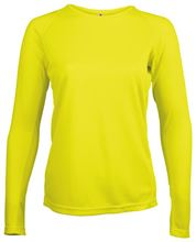 Proact Lange Fluoriserend Dames Of Picture Shirt Mouw Geel T Sport 8UfwXx0q