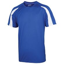 Picture of Kids Contrast Cool T Royal Blue / Arctic White