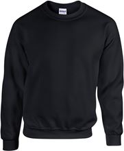 Picture of Heavy blend crew neck - sweat-shirt unisex model Black