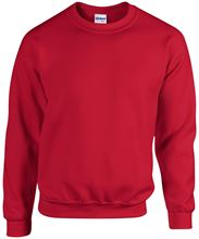Picture of Heavy blend crew neck - sweat-shirt unisex model Cherry Red