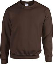 Picture of Heavy blend crew neck - sweat-shirt unisex model Dark Chocolate