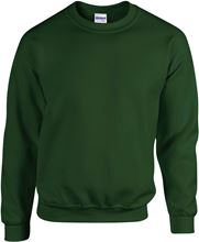 Picture of Heavy blend crew neck - sweat-shirt unisex model Forest Green