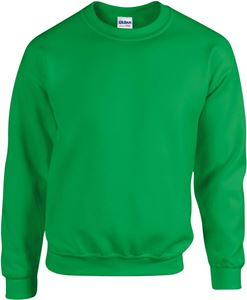 Afbeelding van Heavy blend crew neck - sweat-shirt unisex model Irish Green