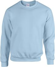 Picture of Heavy blend crew neck - sweat-shirt unisex model Light Blue