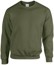 Picture of Heavy blend crew neck - sweat-shirt unisex model Military Green