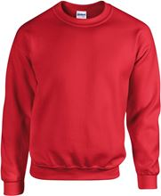 Picture of Heavy blend crew neck - sweat-shirt unisex model Red