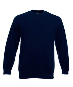 Afbeelding van Classic Set-in Sweat Fruit of the Loom Deep Navy
