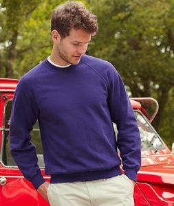Afbeelding van Classic Raglan Sweater Fruit of the Loom