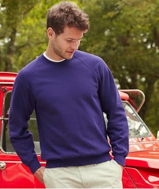 Picture of Classic Raglan Sweater Fruit of the Loom